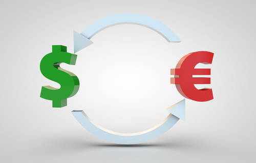 currency exchange dollar to euro