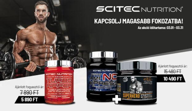 Scitec nutrition termékek