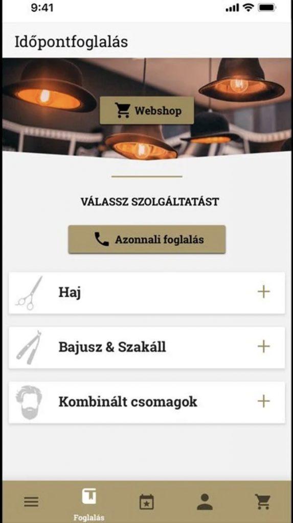 app készítés