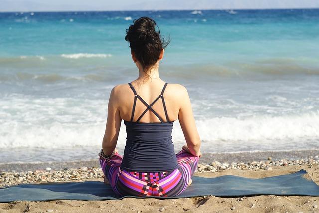 Meditáció kellemes környezetben