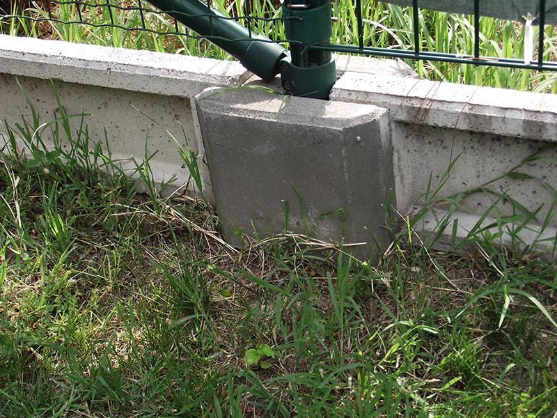 kerítés lábazati elem